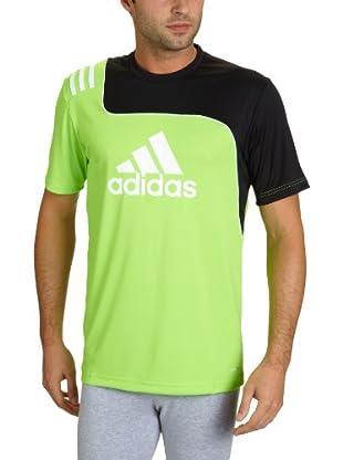 adidas Camiseta sere11 (Verde / Negro)
