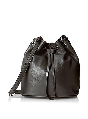 Charles Jourdan Women's Linzi Drawstring Bag, Black