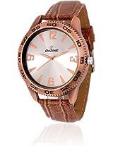 Dezine Dz-Gr080-Slv-Brw Men'S Watch