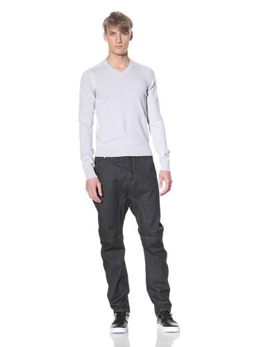 i.am Men's V-Neck Sweater (Light Grey)