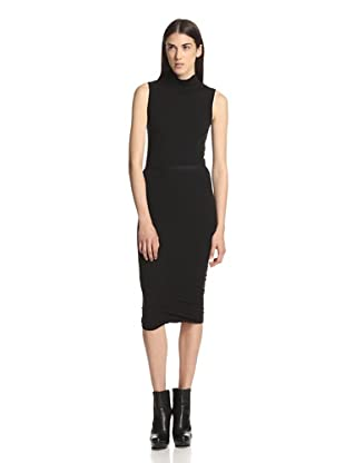 Rick Owens Lilies Women's Seamed Skirt (Black)