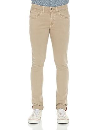 Carrera Jeans Pantalón Bull Denim Spintech (Beige)