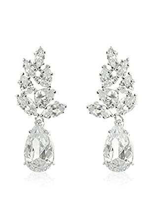 CZ BY KENNETH JAY LANE Ohrringe Foliate Drop