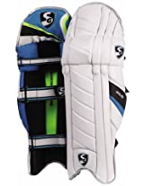 SG Nylite Cricket Batting Leg Guard Pads Mens Size Right Handed