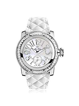 Glam Rock Women's GR10531D Miami White/Mother of Pearl Genuine Leather Watch