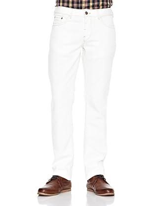 Chevignon Pantalón Denim (Blanco)