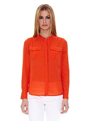 Naf Naf Blusa Flore (Naranja)