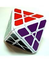 Lanlan 4-Axis Octahedron Puzzle Cube White