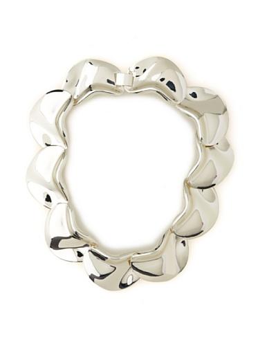 Tuleste Market Petal Necklace, Silver