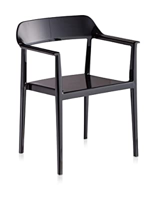 Zuo Set of 4 Delight Dining Chairs (Black)