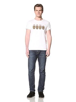 GANT by Michael Bastian Men's The M.B. GANT Monkey T-Shirt (White)