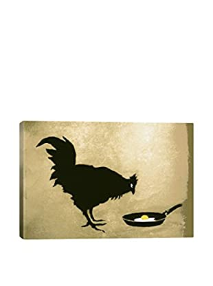 Chicken & Egg Gallery Wrapped Canvas Print