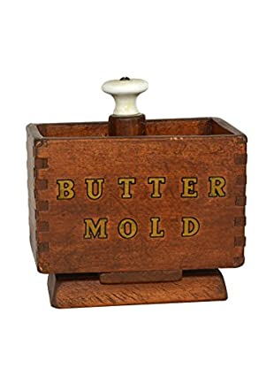 Uptown Down Previously Owned Wood Butter Mold Box