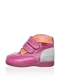 Kickers Kid's Babydou Hi-Top Shoe (Fuchsia)