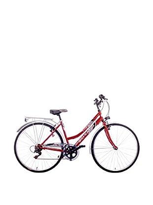 Schiano Cicli Bicicleta 28 Trekking 06V. Shimano Rojo
