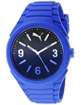 PUMA Unisex PU103592008 Gummy fading blue Analog Display Watch