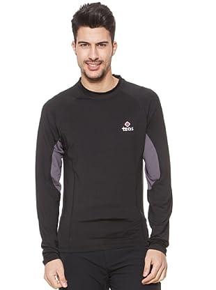 Izas Camiseta Térmica Fugen (Negro / Gris Oscuro)
