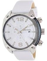Diesel Chronograph White Dial Men's Watch - DZ4315