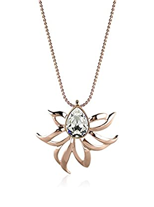 Annie Ram Collar Art Chrysantheme Metal Rosado