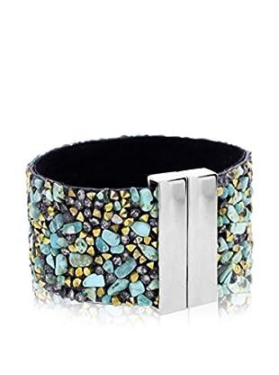 Diamond Style Pulsera Cuff