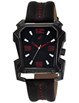 Fastrack Analog Black Dial Men's Watch - 3131NL02