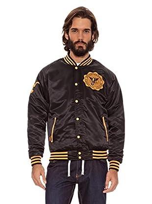 Grimey Wear Chaqueta Satinada Furies (Negro)