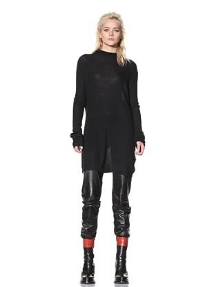 Ann Demeulemeester Women's Long Sweater (Black)