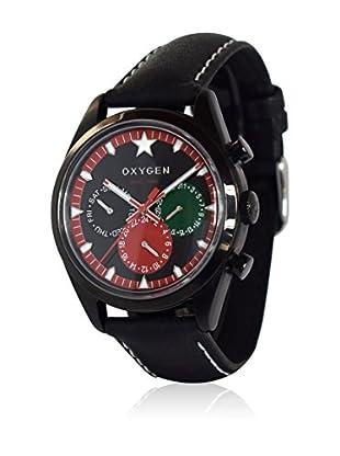 Oxygen Quarzuhr Set Sport Dual Time Roma  40  mm