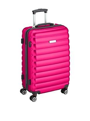Luggagezone Hartschalen Trolley Upright rosa 67 cm