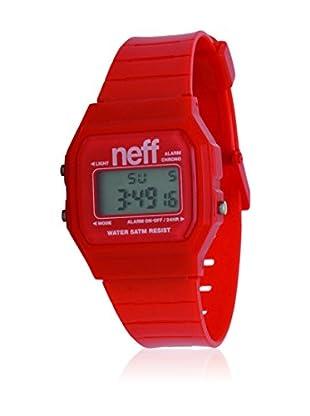 Neff Quarzuhr Flava rot 35  mm