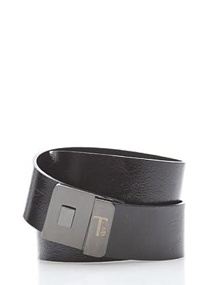 Trussardi Cinturón Vintage (negro)