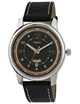 Timex Fashion Analog Black Dial Men's Watch - TW000V805
