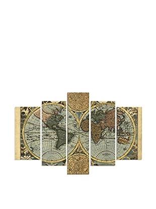 Dekorjinal Set, 5-teilig dekoratives Bild D5Tp09 (mehrfarbig)