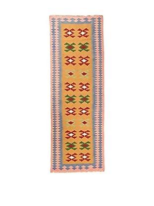 RugSense Alfombra Persian Kashkai Mostaza/Multicolor 303 x 90 cm