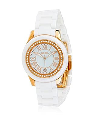 Folli Follie Reloj con movimiento Miyota Woman Cma-Ceramica 42 mm