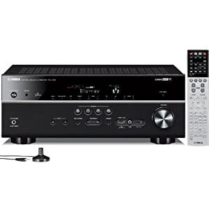 Yamaha RX-V675 7.2 Channel Network AV Receiver with Airplay (Discontinued by Manufacturer)