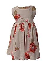 Faye Floral Printed Viscose Dress 2-3Y