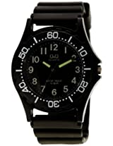 Q&Q Standard Analog Black Dial Men's Watch - VP02-002
