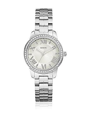 Guess Uhr mit japanischem Mechanikuhrwerk Woman Mini Allure Silver Tone silberfarben 35 mm