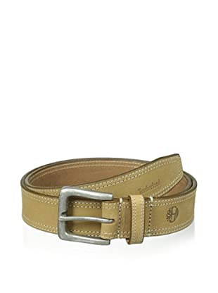 Timberland Men's Boot Leather Belt (Gold)