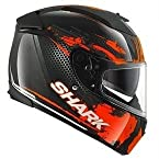 Shark Helmets Speed-R Duke Black Orange Anthracite (Large)