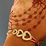 Stylish Crystal Love Heart Charm Bracelet