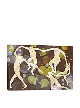 Dance IX Gallery Wrapped Canvas Print