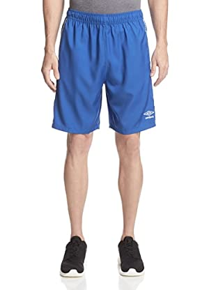 Umbro Men's Aztec Stripe Soccer Short (Italy Royal Blue)