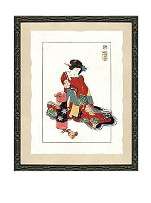 Art Source Geisha Fashion Print I, Multi