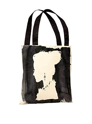 Oliver Gal Beauty Tote Bag, Black/White
