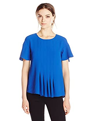 French Connection Bluse Aro Crepe Fluted Slv