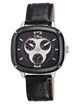 Giordano Analog Black Dial Men's Watch - 1461-01