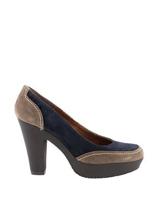 Liberitae Zapatos Plataforma (Topo / Marino)