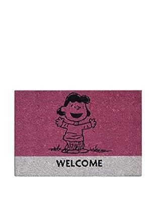 Molecuisine Fußmatte Peanuts pink
